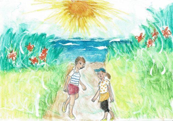 「自然を先生に」心を込めて太陽4周目へ