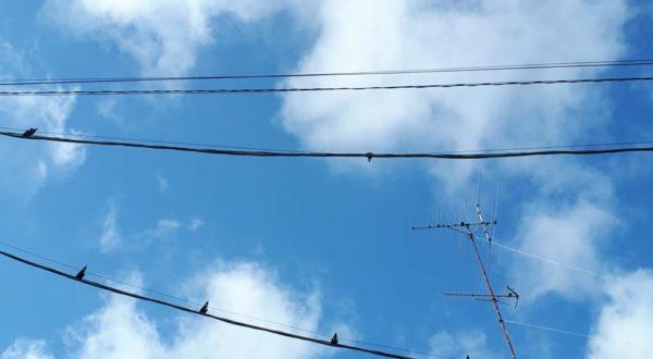 青空と雲と…