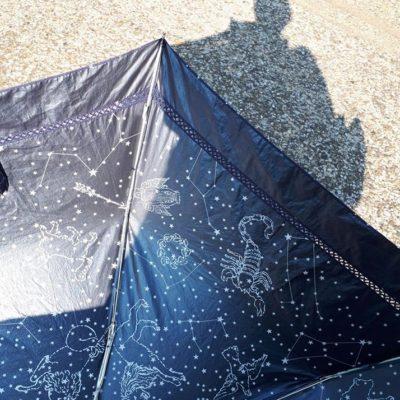 日傘の新しい使い方